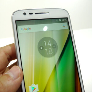 Motorola Moto E hands-on: affordable and unremarkable