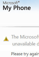 Microsoft's My Phone currently down?
