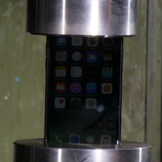 Watching the iPhone 7 get pancaked by hydraulic press is incredibly gratifying
