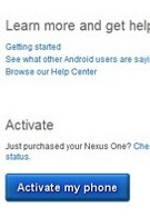 Nexus One page goes live-then dies