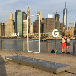 Sculpture found in Brooklyn promotes October 4th unveiling of Pixel, Pixel XL phones