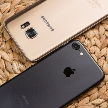 Image result for Samsung Galaxy S8 Vs Apple IPhone 7 Comparison