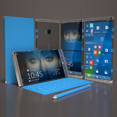 Microsoft Surface Phone concept sports a 6-inch display and elegant design