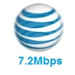 AT&T upgrades their tower's software to 7.2Mbps data, but you won't get it yet