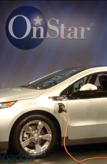 Chevy Volt with OnStar to support apps for Android, BlackBerry and iPhone