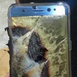 Replacement Samsung Galaxy Note 7 explodes in Taiwan while user was walking her dog?