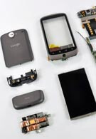 The Nexus One – disassembled and engraved?