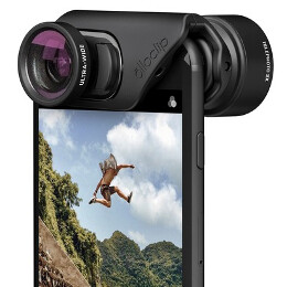 These new Olloclip lens sets for iPhone 7 and iPhone 7 Plus let you take macro and wide-angle photos