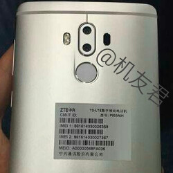 Unannounced ZTE Axon 7 Max appears in leaked images