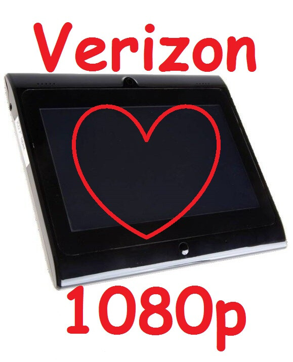 Verizon demonstrates LTE streaming 1080p video Tablet