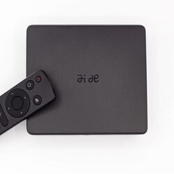 The Remix IO is a 4K media streamer that turns your TV into an Android powerhouse