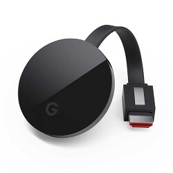 Google Store officially has the Chromecast Ultra and