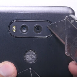 The LG V20 goes through scratch, bend, and burn test
