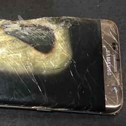 Samsung Galaxy S7 Rand explodiert während des Aufladens