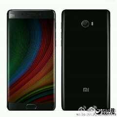 Xiaomi Mi Note 2 leaked hours before official launch
