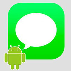 Apple may have made iMessage for Android concepts with Material Design