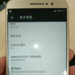Take a look at the latest images of the Motorola Moto M