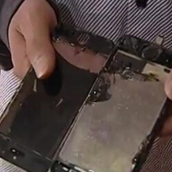 iPhone 5s reportedly catches fire while on charge