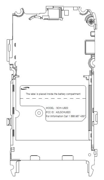 Samsung U820 on its way to Verizon