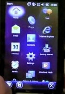 Windows Mobile 6.5.3 caught on video