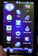 Windows Mobile 6.5.3 caught on video
