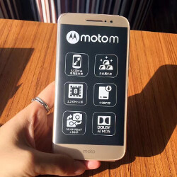 Latest Motorola Moto M leaked images include new shots of the phone and the box