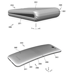 Samsung's foldable phone tipped on track for 2017, detailed patent reveals possible design