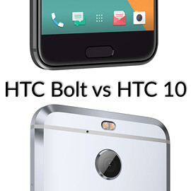 The new Sprint-exclusive HTC Bolt versus the good ol' HTC 10: here are a few important differences