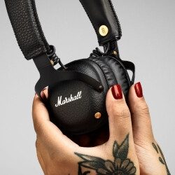 Marshall intros Mid Bluetooth headphones that last 30 hours on a single charge