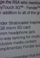 Fender edition of myTouch 3G about to rock?