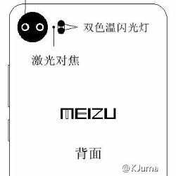 Sketches leak, purportedly showing the Meizu Pro 7