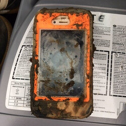 iPhone found at the bottom of a lake, still works