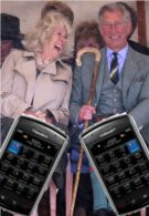BlackBerry Storm 9500 will makes its way to the Royal Collection