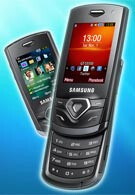 Samsung announces the S5550, S5350 and S3550, the first models of the Shark range