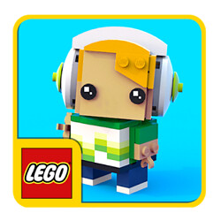 Play with virtual LEGOs in the Brickheadz app for Daydream VR