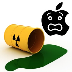 Apple agrees to pay $450,000 for mishandling hazardous waste