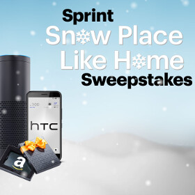 Win $5,000 in Amazon Credit, an HTC Bolt, and more free goodies from Sprint