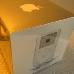 Unopened OG Apple iPod carries hefty $200,000 price tag on eBay