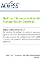 """""""Concept Version"""" of NetFront Browser 4.0 for WM is available"""