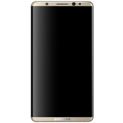 Galaxy S8: fingerprint sensor on the back and a Note 7-like iris scanner