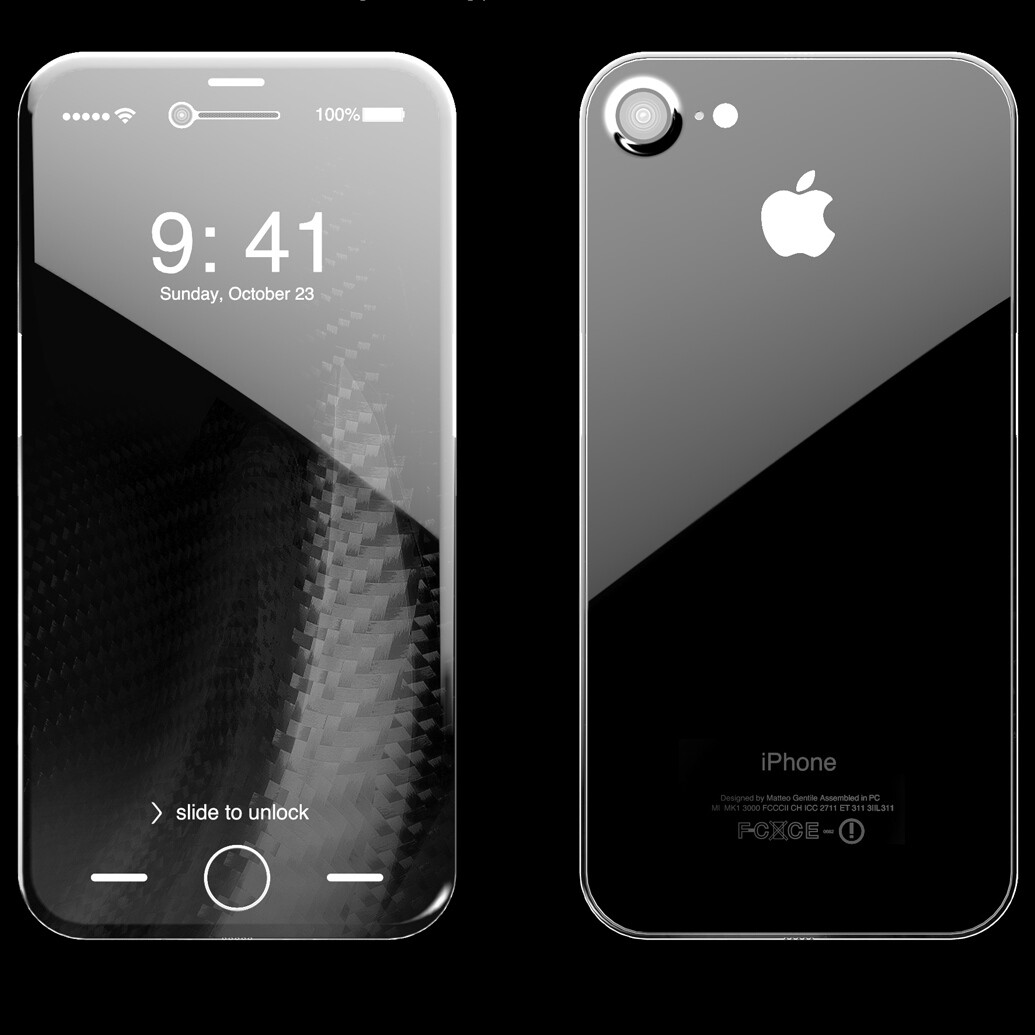 The OLED iPhone 8 may be curved on all sides, Apple ...