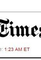Days of free NY Times web access is over?