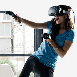Get the HTC Vive for $100 off along with two free games and a $100 gift card code