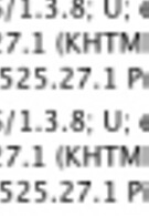 Palm Pre and Pixi hit server logs wearing AT&T colors, running webOS 1.3.8