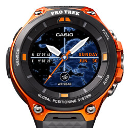 Casio announces new Pro Trek rugged smartwatch with Android Wear 2.0