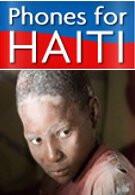 Donate your unused cell phones to benefit quake victins in Haiti