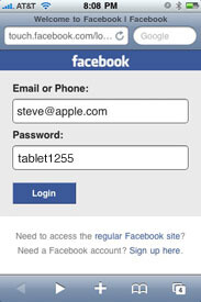 Facebook bug now fixed for AT&T customers