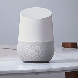 Watching two Google Home speakers babble with each other is the precursor to the A.I. apocalypse!