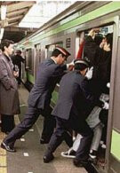 Japan's subway commuters are annoyed with cell phones