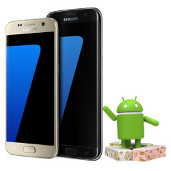 Public release Android 7 Nougat update rolling to all Galaxy S7 and S7 edge handsets in beta test markets